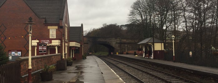 Kingsley & Froghall Railway Station is one of Churnet Valley 2018.