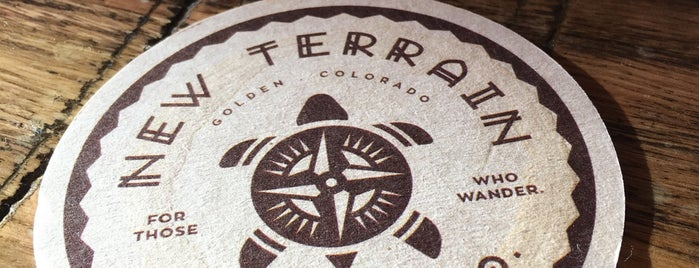 New Terrain Brewing Co is one of Kelly : понравившиеся места.