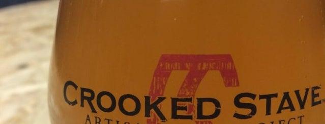 Crooked Stave Barrel Cellar is one of Beer / Ratebeer's Top 100 Brewers [2017].