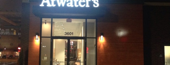 Atwater's at Canton Crossing is one of Latte Art Baltimore.