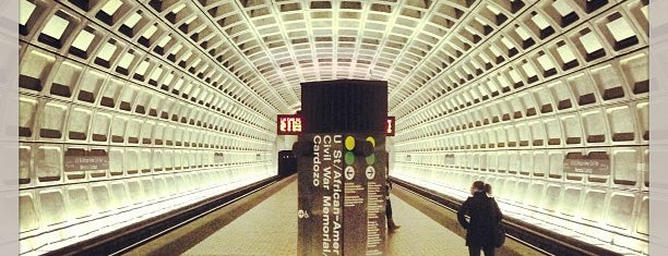 U Street Metro Station is one of DC Metro Insider Tips.