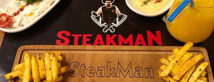SteakMan Steakhouse is one of Şevket : понравившиеся места.