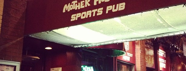 Mother Hubbard's Sports Pub is one of Chicago faves.