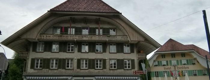 Hotel Restaurant Hirschen is one of Lieux qui ont plu à Dasha.