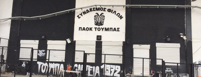 Toumba Stadium is one of Locais curtidos por Tunca.