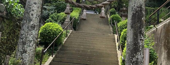 崎津諏訪神社 is one of モリチャン 님이 좋아한 장소.