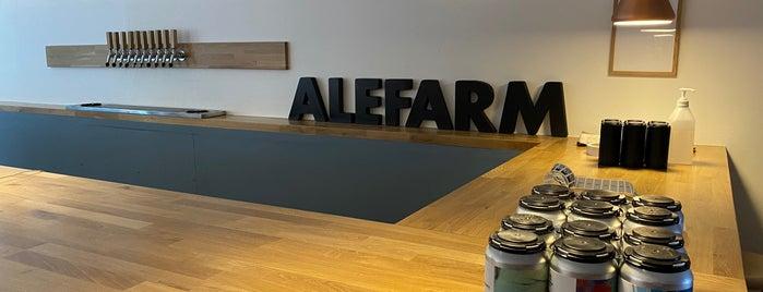 Alefarm Brewing is one of Breweries 🍺.