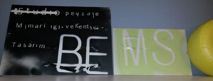 Studio BEMS is one of Peyzaj Mimarlığı Proje Ofisleri.