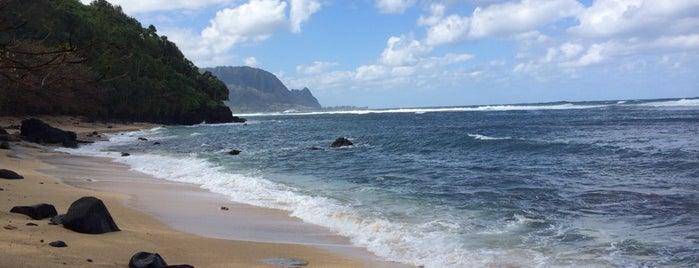 Pali Ke Kua Beach is one of Kauai, Hawaii.