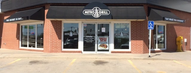 Metro Grill is one of Restaurants I've Also Tried.