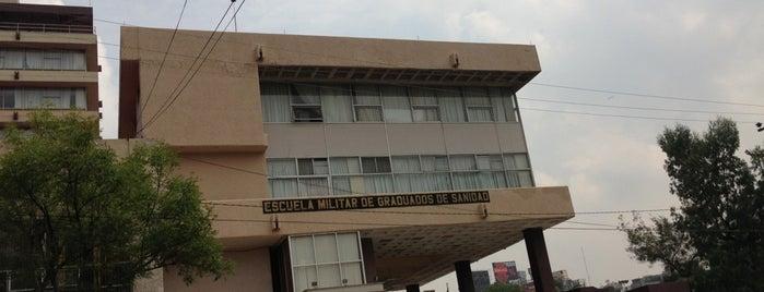 Escuela Medico Militar is one of สถานที่ที่ ᎧᎧᎧᎧᎧᎧ ถูกใจ.