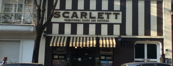 Scarlett Cakes & Bagels is one of riquitos.
