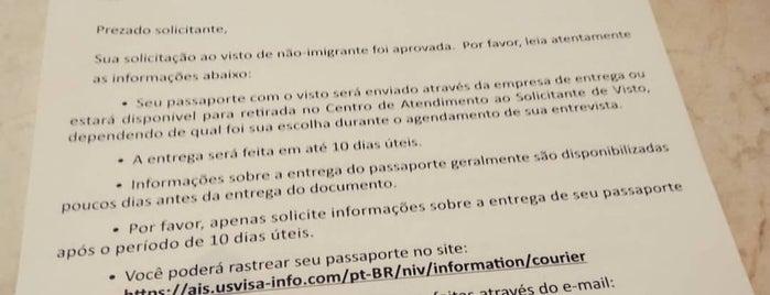 Centro de Atendimento ao Solicitante de Visto (CASV) is one of Lieux qui ont plu à Fernanda.