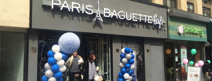 Paris Baguette is one of NYC Places to Visit.
