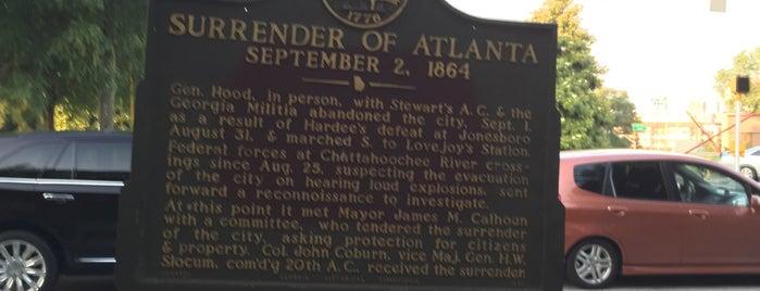 Surrender of Atlanta is one of Chia 님이 좋아한 장소.