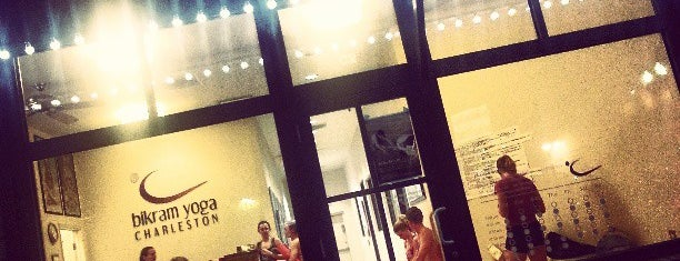 Bikram Yoga Charleston is one of Johnさんの保存済みスポット.