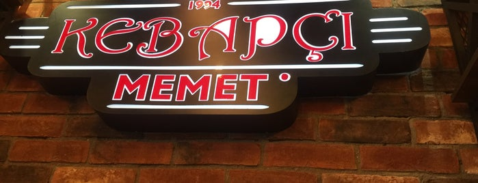 Kebapçı Memet is one of Istanbul food.