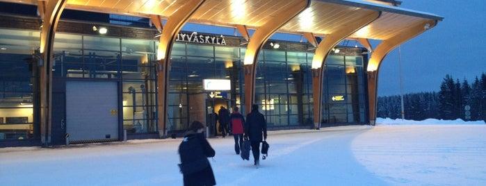 Jyväskylä Airport (JYV) is one of Wanderlust.