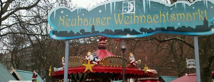 Neuhauser Weihnachtsmarkt is one of München.