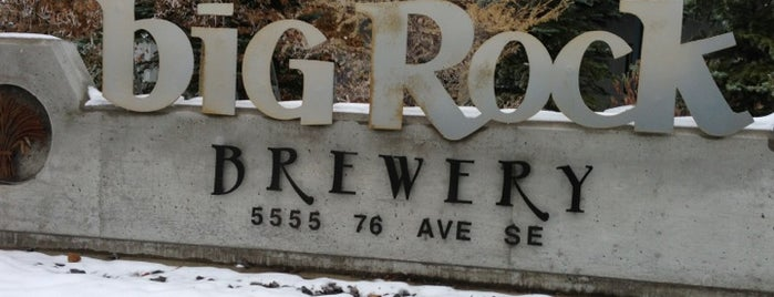 Big Rock Brewery is one of Canada.