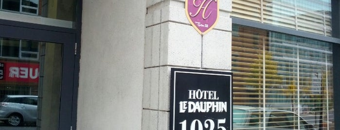 Hôtel Le Dauphin is one of Locais curtidos por Alan.