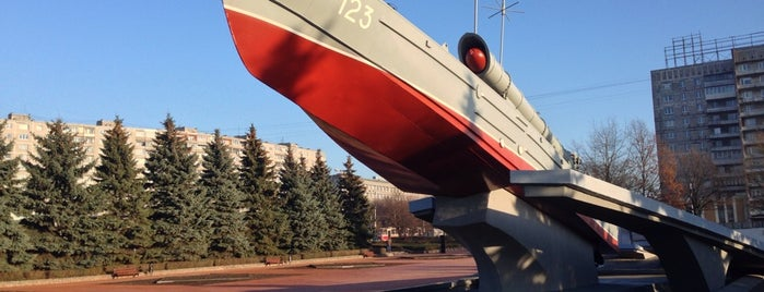 Памятник морякам-балтийцам is one of Mihail : понравившиеся места.