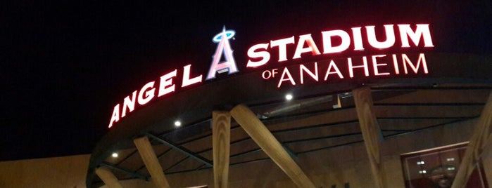Angels Stadium Club Level is one of LA Newport Beach / Laguna Beach.