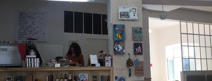 Kafe a knihy Jednota is one of Kde si pochutnáte na kávě doubleshot?.