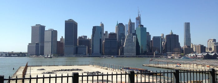 Brooklyn Heights Promenade is one of NYC parks I like.