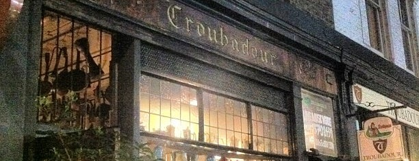 Troubadour is one of BarChick's Bars with Benefits.