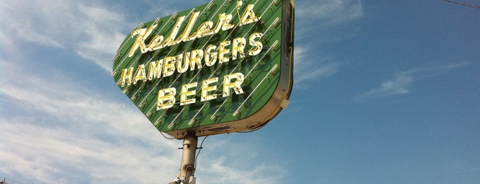 Keller's Drive-In is one of Dallas's Most Mouthwatering Burgers.