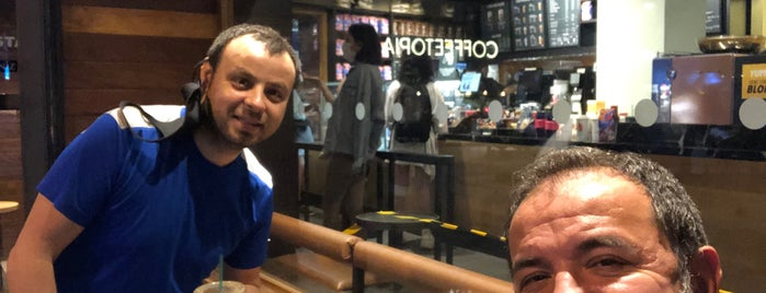 Starbucks is one of Hikmet : понравившиеся места.