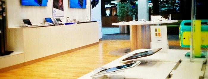 Samsung is one of Galerie Šantovka.