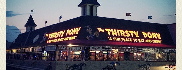 Thirsty Pony is one of bars.