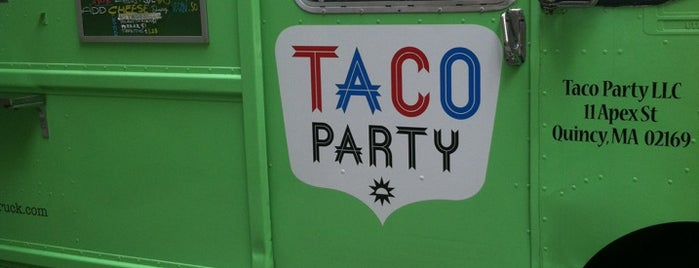 Taco Party is one of Vegan Boston.