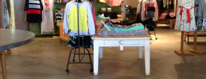 Anthropologie is one of Favorite ABQ spots.