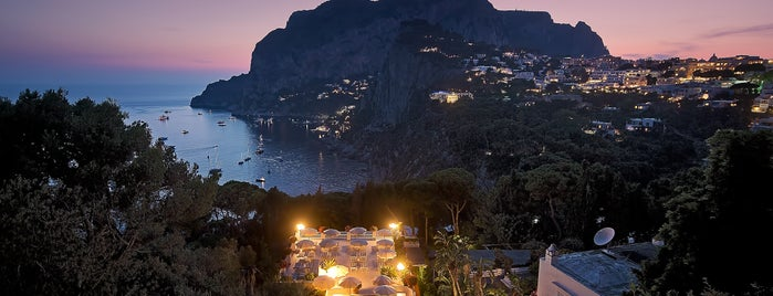 Villa Brunella is one of Capri.