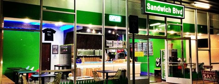 Sandwich Blvd is one of LA LA Land.