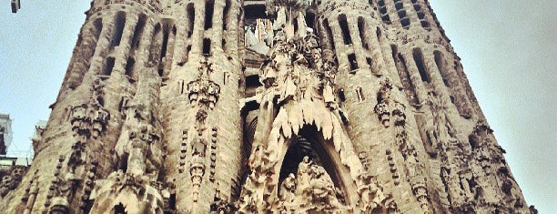 Sagrada Família is one of Barcelona See & Do.