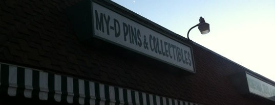 My-D Pins & Collectibles is one of Vinyl Figures and Toys.