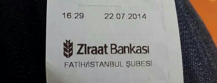 Ziraat Bankası is one of Tempat yang Disukai Engin.