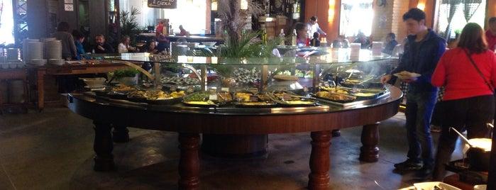Restaurante Celeiro da Fazenda is one of Restaurantes ZN.