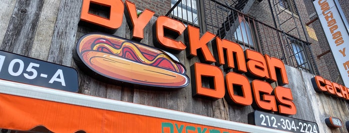 Dyckman Dogs is one of Between the Bread.