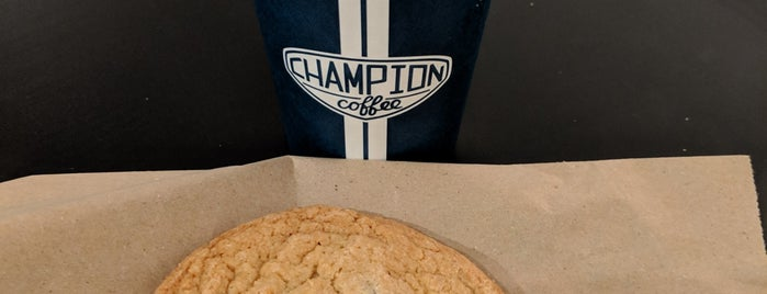 Champion Coffee is one of New: NYC 🆕.