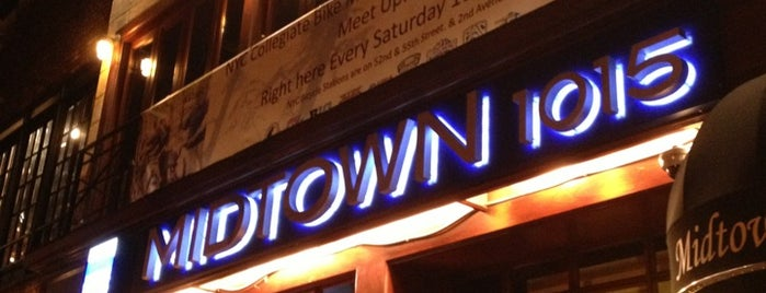 Midtown 1015 is one of NYC Favorite Bars.