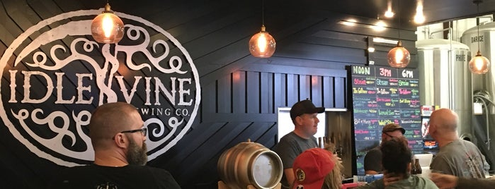 Idle Vine Brewing Co is one of Round Rock.