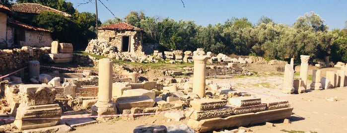 Stratonikeia is one of ANCIENT LOCATIONS IN TURKEY.