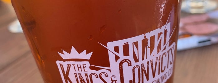 Kings & Convicts Brewing Co. is one of สถานที่ที่ William ถูกใจ.