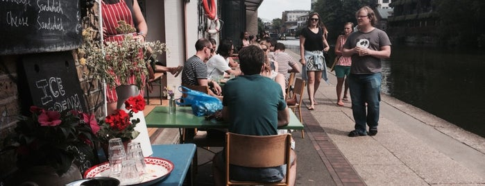 Towpath Cafe is one of Specialty Coffee Shops (London).