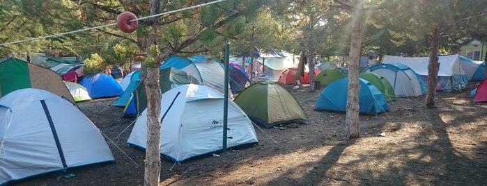 Salda Gölü Kamp Alanı is one of lets discover mate.